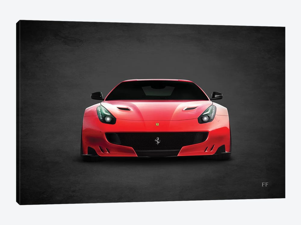 Ferrari FF Canvas Wall Art by Mark Rogan | iCanvas