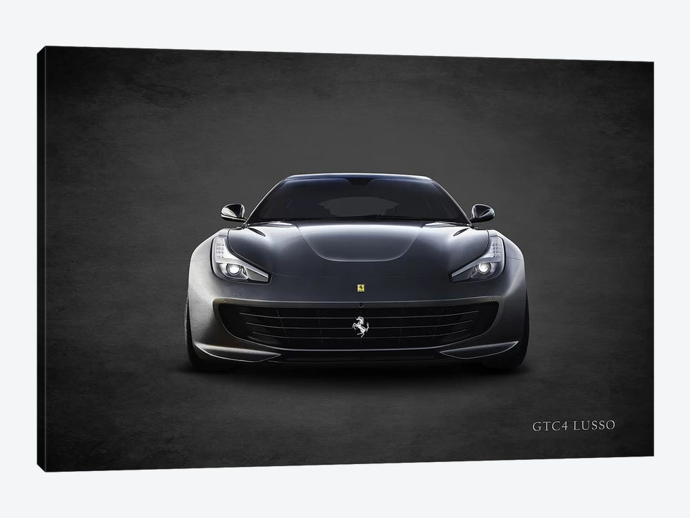 Ferrari GTC4Lusso by Mark Rogan 1-piece Canvas Art Print