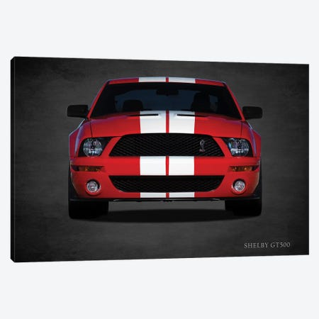 Ford Shelby GT500 Canvas Print #RGN423} by Mark Rogan Canvas Artwork