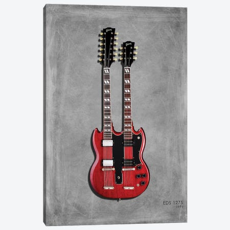 Gibson EDS1275 '71 Canvas Print #RGN425} by Mark Rogan Canvas Art Print