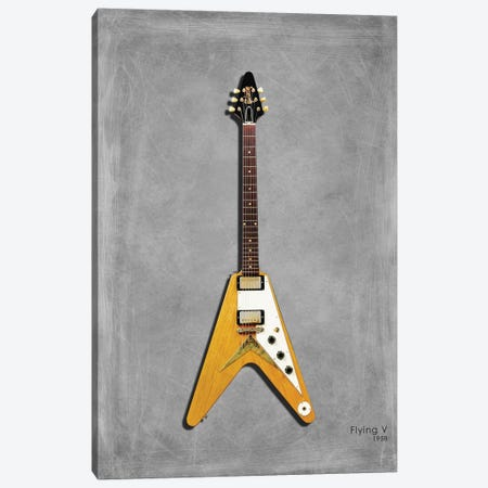 Gibson Flying V '58 Canvas Print #RGN429} by Mark Rogan Canvas Artwork