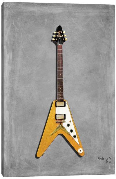Gibson Flying V '58 Canvas Art Print