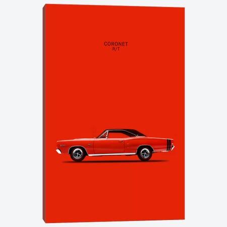 1968 Dodge Coronet R/T 426 Hemi Canvas Print #RGN42} by Mark Rogan Canvas Art