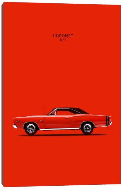 1968 Dodge Coronet R/T 426 Hemi Canvas Art Print