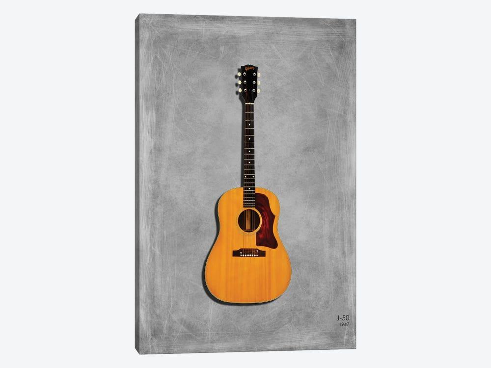 Gibson J50, 1967 by Mark Rogan 1-piece Canvas Artwork