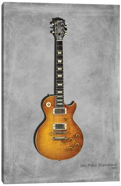 Gibson Les Paul Standard, 1959 Canvas Art Print