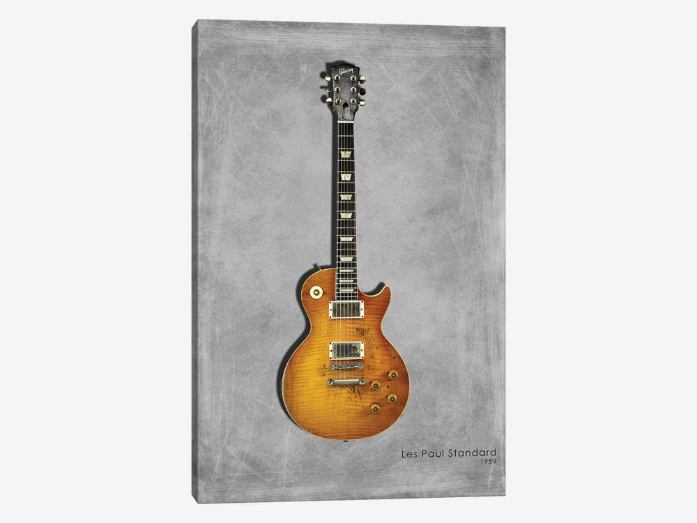 Gibson Les Paul Standard, 1959 by Mark Rogan 1-piece Art Print