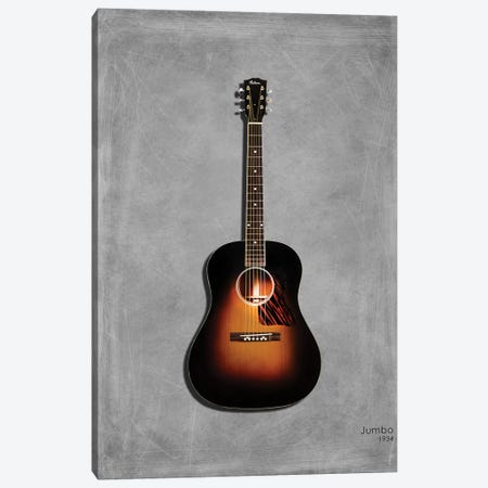 Gibson Original Jumbo, 1934 Canvas Print #RGN435} by Mark Rogan Canvas Art