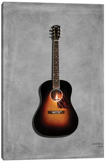 Gibson Original Jumbo, 1934 Canvas Art Print