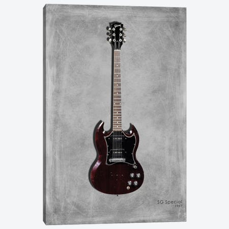 Gibson SG Special, 1967 Canvas Print #RGN437} by Mark Rogan Canvas Artwork