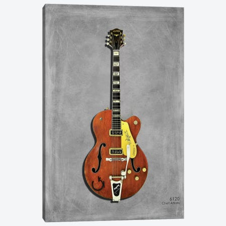 Gretsch 6120 Chet Atkins '56 Canvas Print #RGN439} by Mark Rogan Canvas Print