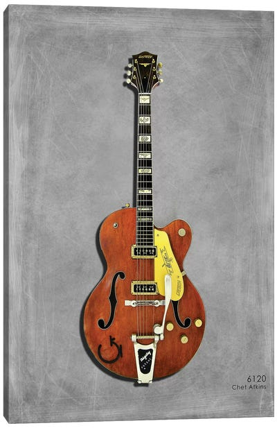 Gretsch 6120 Chet Atkins '56 Canvas Art Print