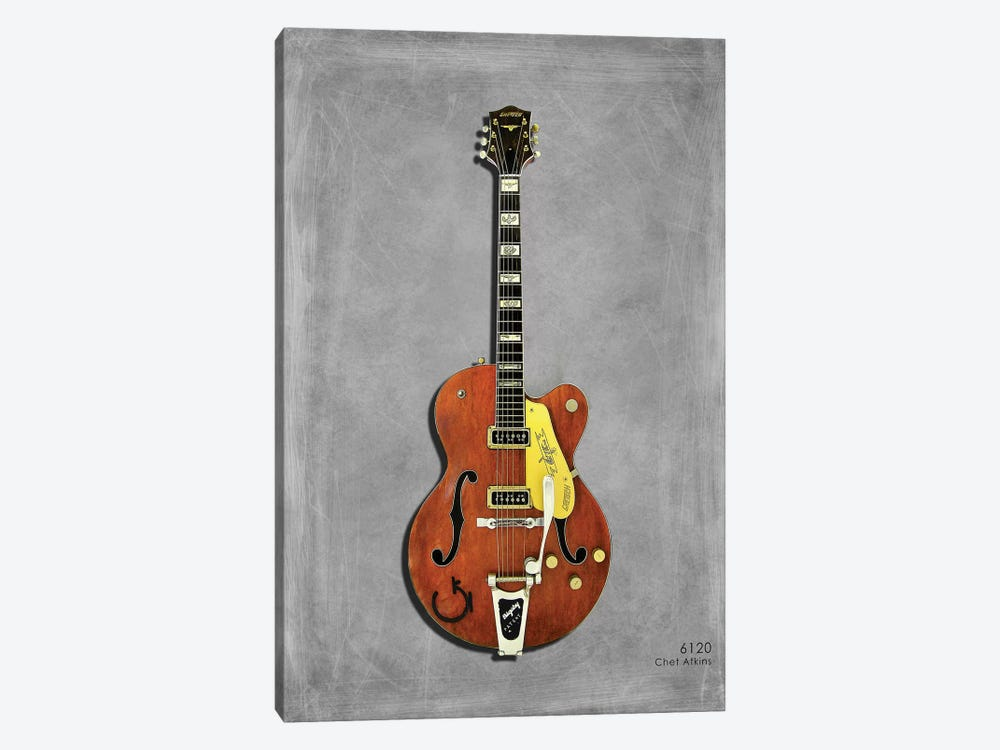Gretsch 6120 Chet Atkins '56 by Mark Rogan 1-piece Canvas Art