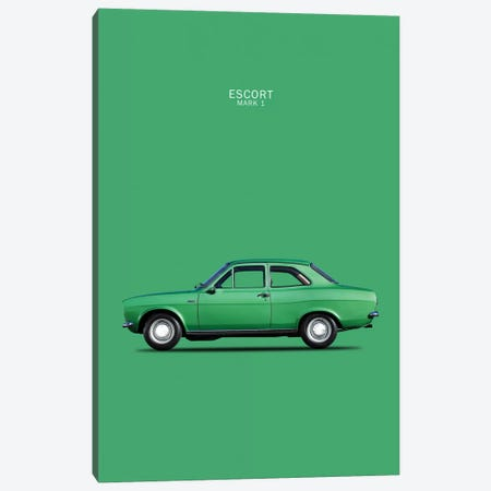 1968 Ford Escort Twin Cam Mark I Canvas Print #RGN43} by Mark Rogan Canvas Artwork
