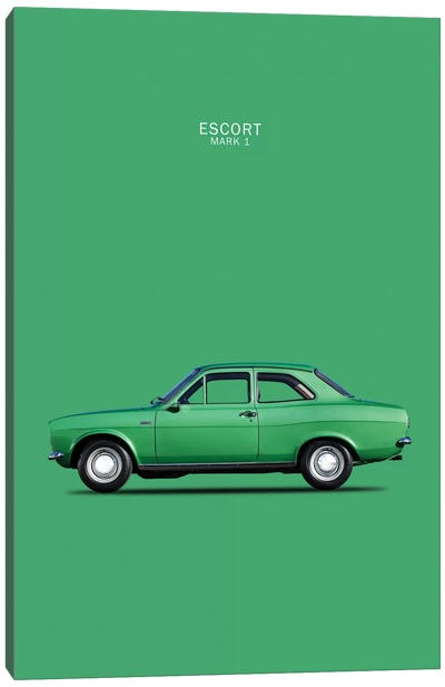 1968 Ford Escort Twin Cam Mark I Canvas Print #RGN43