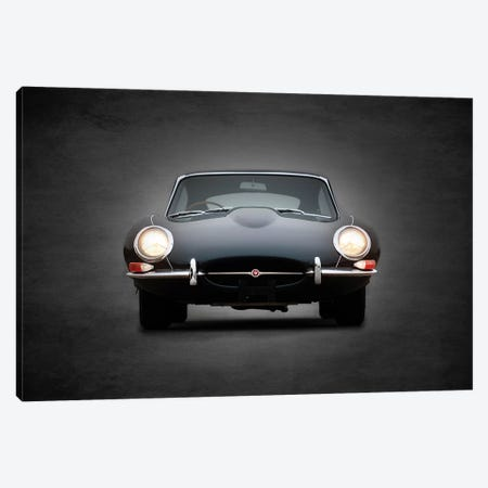 Jaguar E-Type 3-Piece Canvas #RGN443} by Mark Rogan Canvas Wall Art
