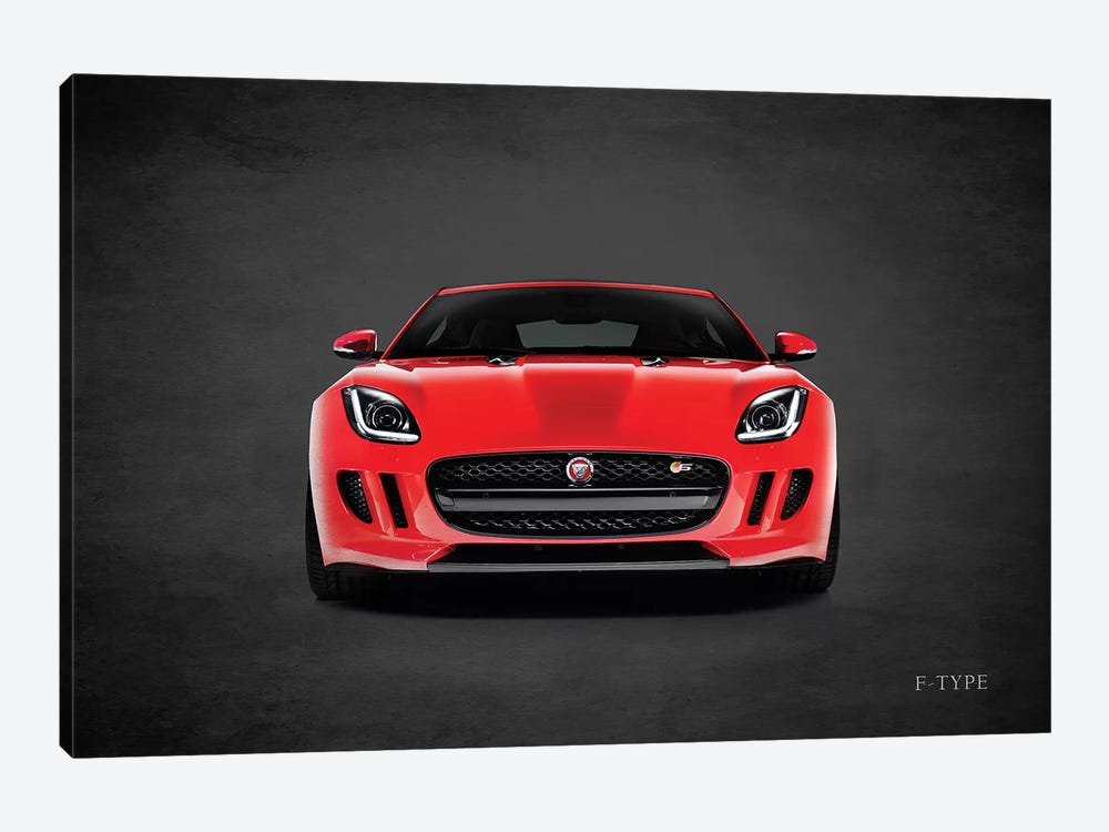 Jaguar F-Type, Front by Mark Rogan 1-piece Canvas Artwork