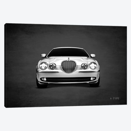 Jaguar S-Type Canvas Print #RGN446} by Mark Rogan Canvas Print