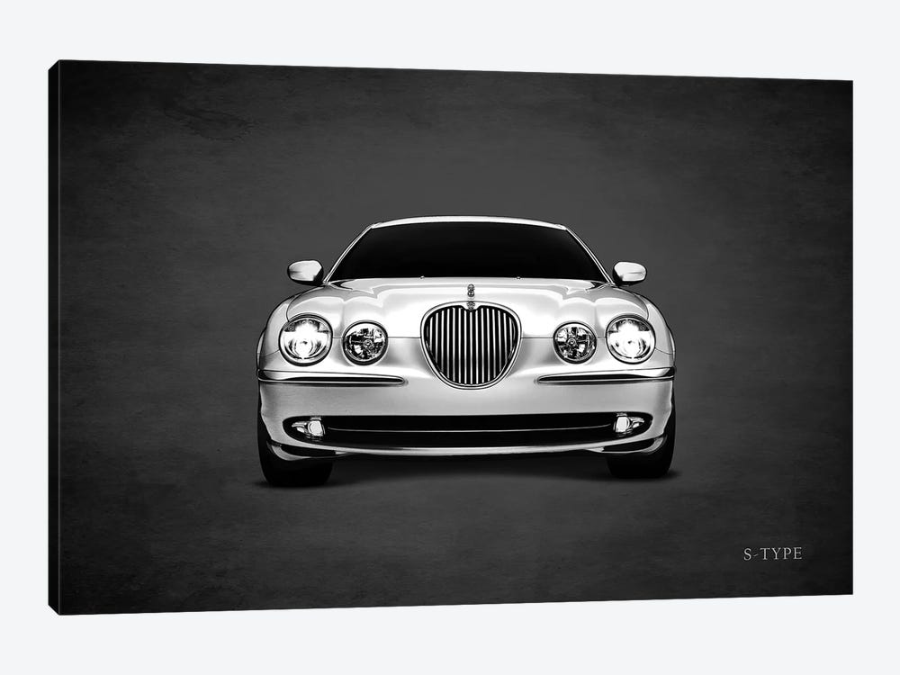 Jaguar S-Type by Mark Rogan 1-piece Canvas Wall Art
