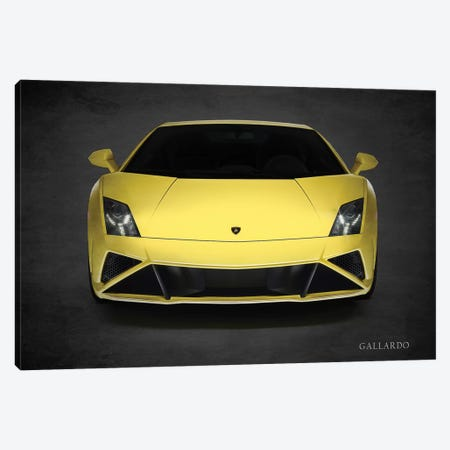 Lamborghini Gallardo LP-560 Canvas Print #RGN447} by Mark Rogan Canvas Art Print
