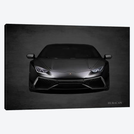 Lamborghini Huracán Canvas Print #RGN448} by Mark Rogan Canvas Wall Art