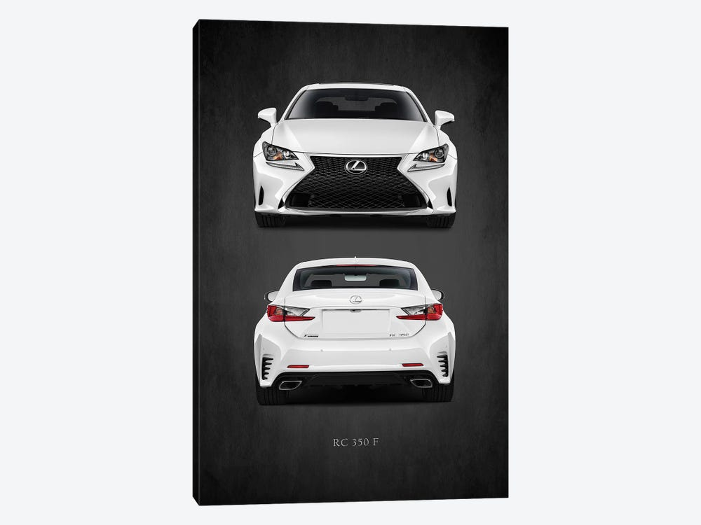Lexus RC 350 F by Mark Rogan 1-piece Canvas Print