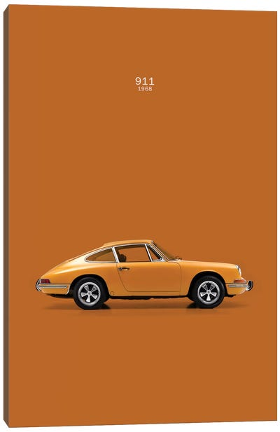 1968 Porsche 911 Canvas Art Print