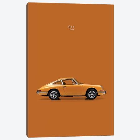 1968 Porsche 911 Canvas Print #RGN44} by Mark Rogan Canvas Print