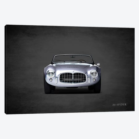 Maserati A6 Spider Canvas Print #RGN450} by Mark Rogan Canvas Print