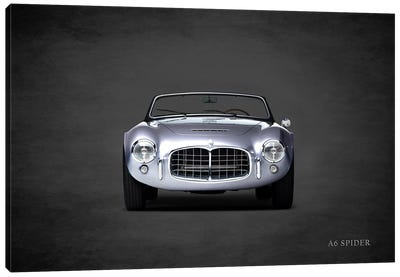 Maserati A6 Spider Canvas Art Print