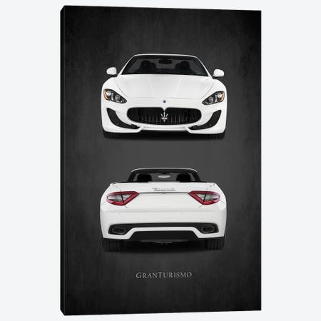 Maserati GranTurismo Canvas Print #RGN451} by Mark Rogan Canvas Print