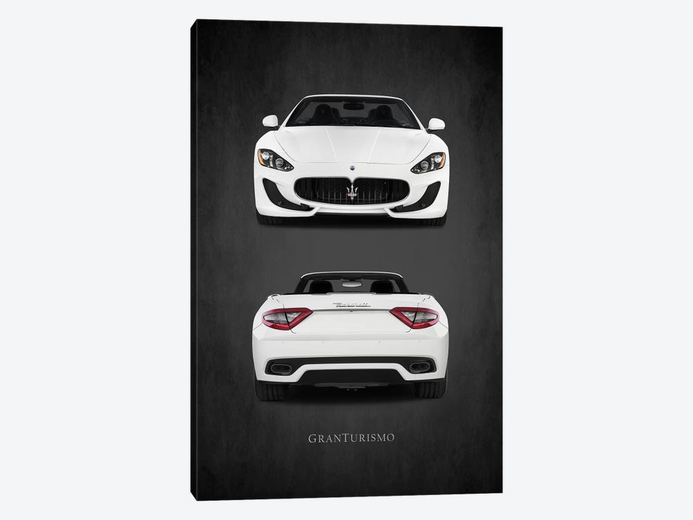 Maserati GranTurismo by Mark Rogan 1-piece Canvas Art