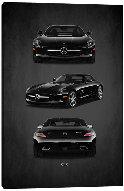 Merc Benz SLS AMG Canvas Art Print