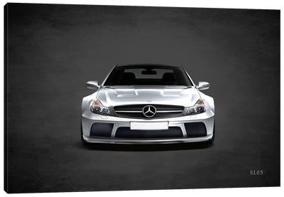 Mercedes Benz SL65 Canvas Art Print