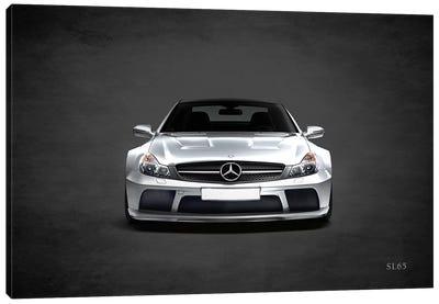 Mercedes Benz SL65 Canvas Art Print