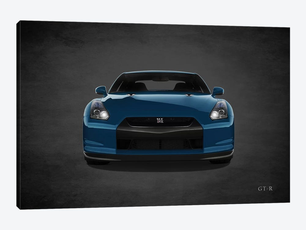 Nissan GT-R by Mark Rogan 1-piece Canvas Art