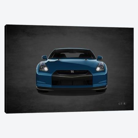 Nissan GT-R Canvas Print #RGN455} by Mark Rogan Canvas Wall Art