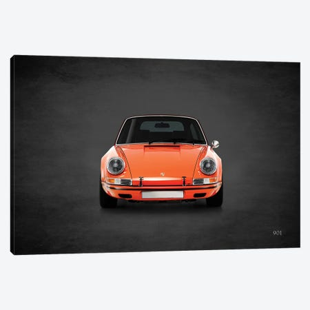 Porsche 901 Canvas Print #RGN458} by Mark Rogan Art Print