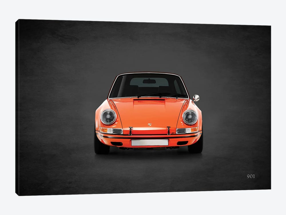Porsche 901 by Mark Rogan 1-piece Art Print