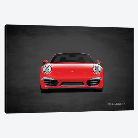Porsche 911 Carrera Canvas Print #RGN459} by Mark Rogan Canvas Print