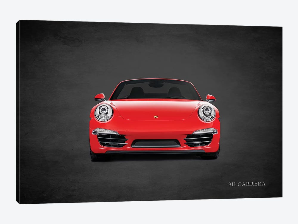 Porsche 911 Carrera by Mark Rogan 1-piece Canvas Wall Art