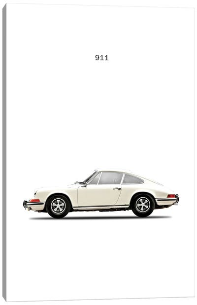 1968 Porsche 911E Canvas Art Print