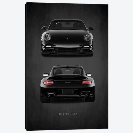 Porsche 911 Carrera Turbo Canvas Print #RGN460} by Mark Rogan Canvas Artwork