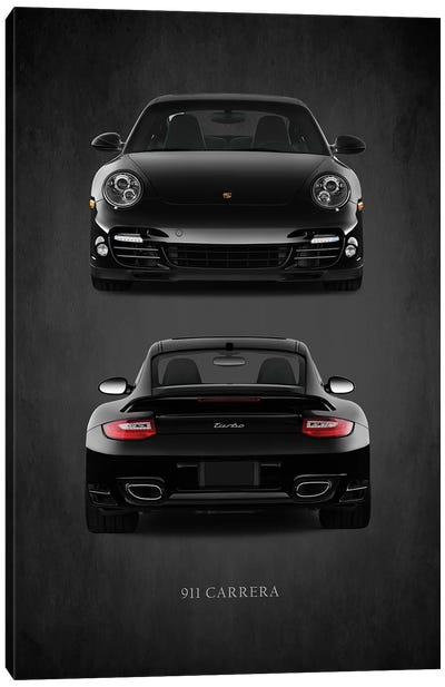 Porsche 911 Carrera Turbo Canvas Art Print