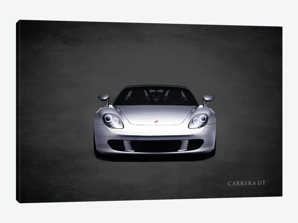 Porsche Carrera GT by Mark Rogan 1-piece Canvas Art Print