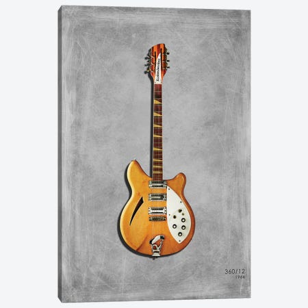 Rickenbacker 360 12 Canvas Print #RGN464} by Mark Rogan Canvas Print