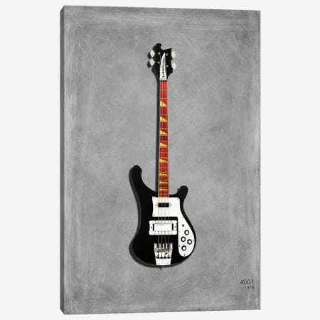 Rickenbacker 4001, 1979 Canvas Print #RGN465} by Mark Rogan Canvas Art Print