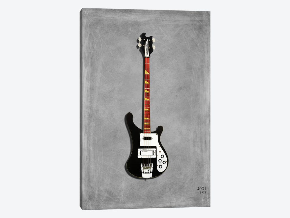 Rickenbacker 4001, 1979 1-piece Canvas Art Print