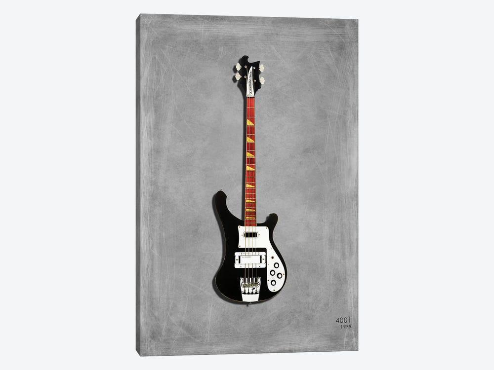 Rickenbacker 4001, 1979 by Mark Rogan 1-piece Canvas Art Print
