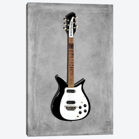Rickenbacker 950, 1965 Canvas Print #RGN466} by Mark Rogan Canvas Art Print